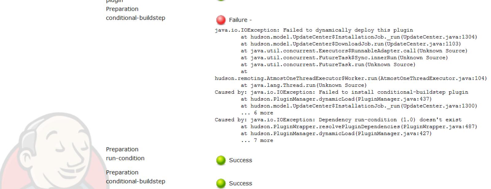 Software Antagonistic Pleiotropy: Installing Jenkins plugins