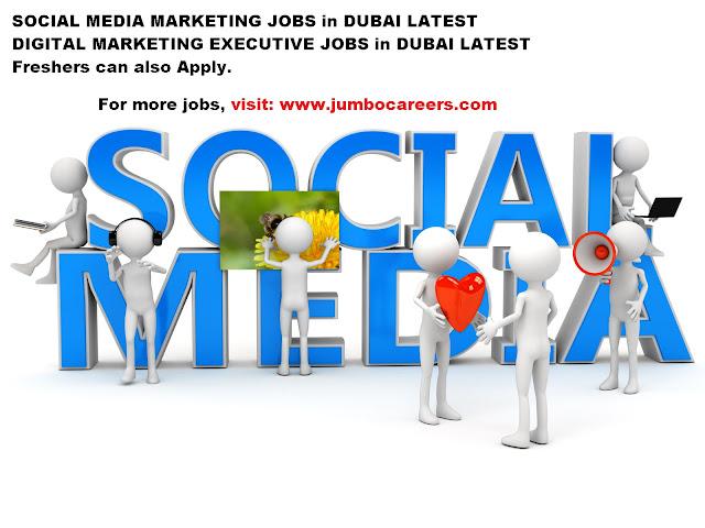 digital marketing executive jobs in Dubai