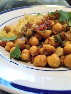 Channa Masala - Savory Chickpeas