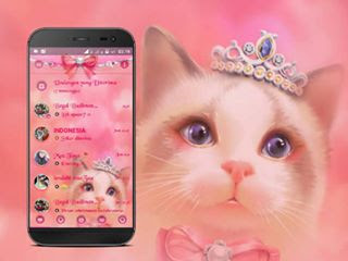 BBM Mod Droid Chat Meong Pussy v3.1.0.13 Apk