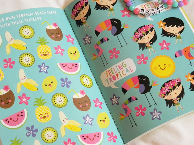 Bright Tropical Stickers