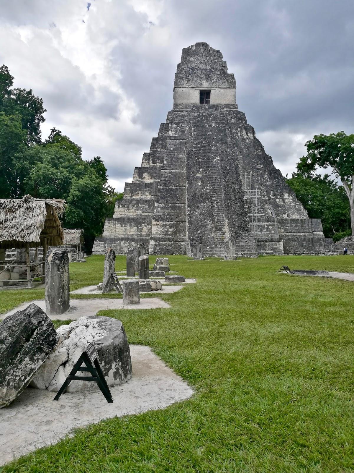ruinas mayas de Tikal