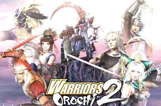 Save Game Warriors Orochi 2 PPSSPP