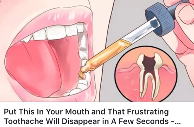 How To Get Rid Of A Toothache