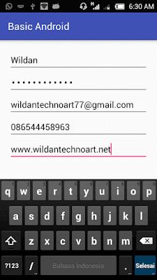 Screenshot_Input TypeText EditText Example