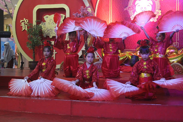 Siswa SD Kristen Kalam Kudus Surakarta Meriahkan Perayaan Imlek