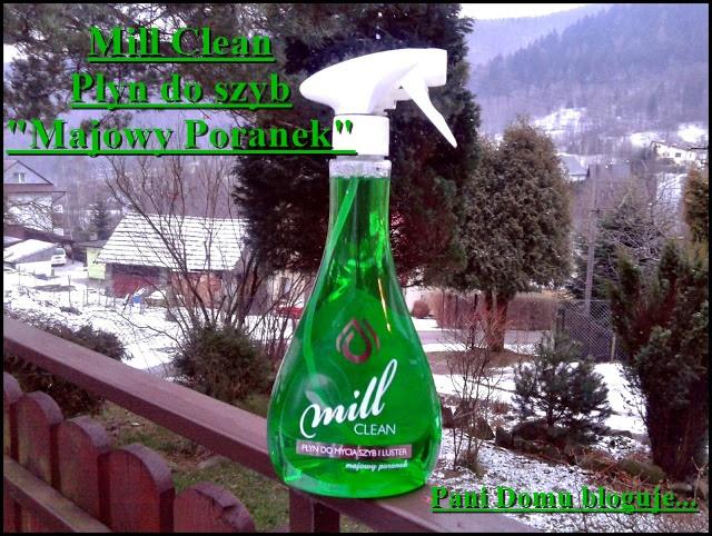 mill clean, płyn do szyb i luster, majowy poranek, sprzątanie, porządki, recenzja, opinia, blog, pani domu