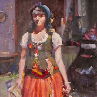 Пейзажная, портретная и фигуративная живопись. Ran Wu