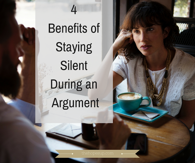 4 Benefits of Staying Silent During an Argument