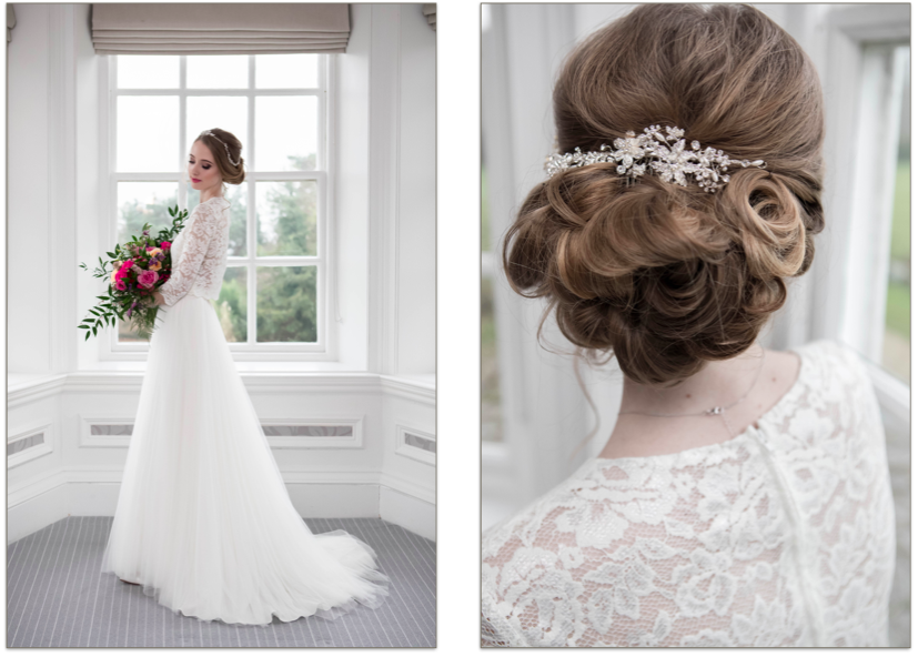 Bridal Styling Undo With Very Long Hair