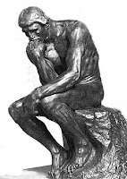 The Thinker, Auguste Rodin, 1880.