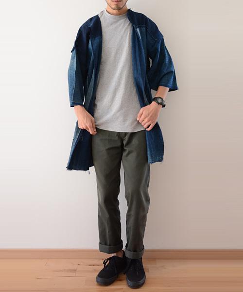 野良着 FUNS 藍染 襤褸 継ぎ接ぎ 明治~大正 ジャパンヴィンテージ アンティーク boro noragi