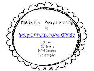 Step into 2nd Grade with Mrs. Lemons: New Reading