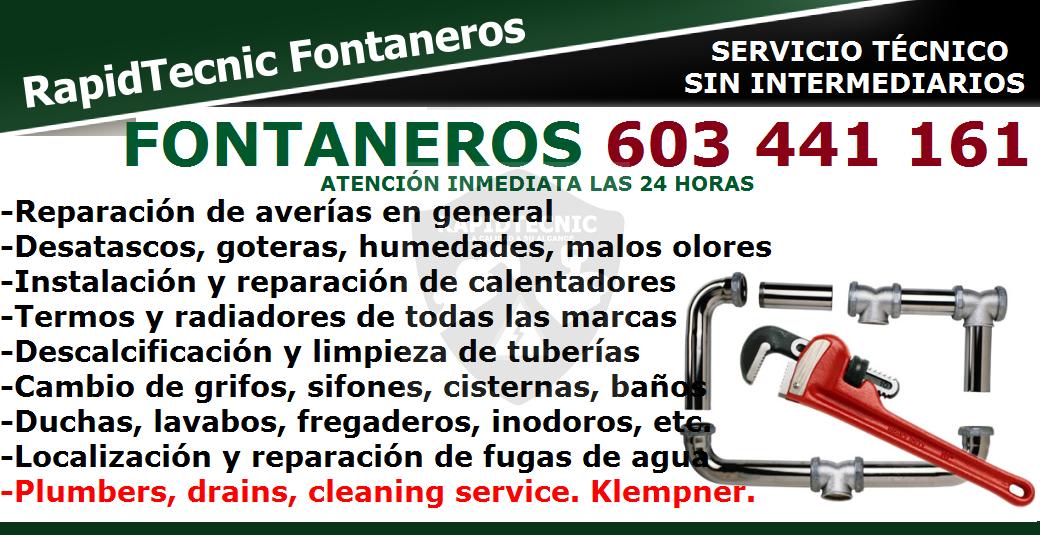 Rapidtecnic alicante fontaneros pusol elche 603 441 161 - Fontaneros en elche ...