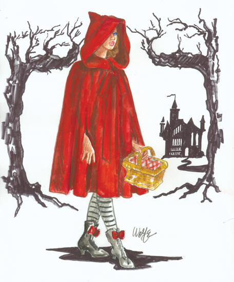Red Riding Hood Sketch