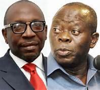 pastor ize iyamu and gov oshomole