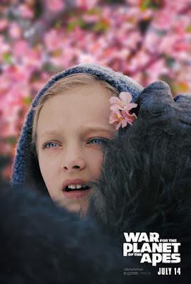 Póster de La Guerra del Planeta de los Simios