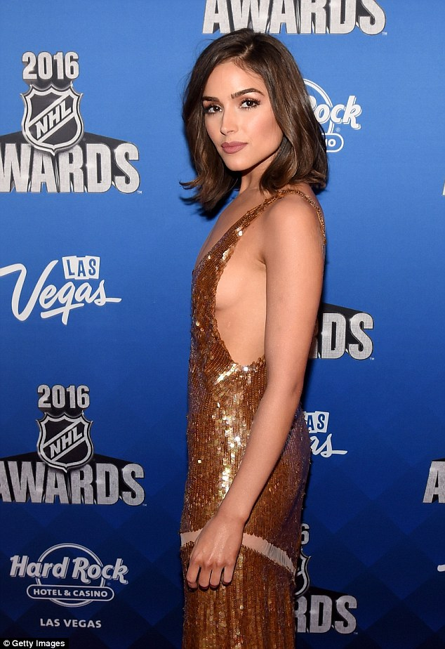 Olivia Culpo dazzled as she attended the NHL Awards in Las Vegas on Wednesday night