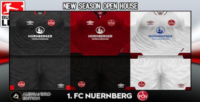 PES 6 Kits 1. FC Nürnberg Season 2018/2019 by Alessandro
