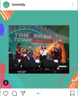 event tomorrow today fun(d) festival diadakan di Senayan City