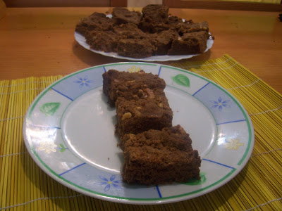 Brownies Chevy Graham. Receta