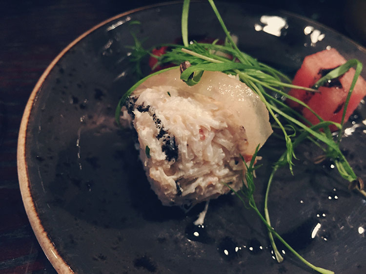 Adelphi Kitchen crab