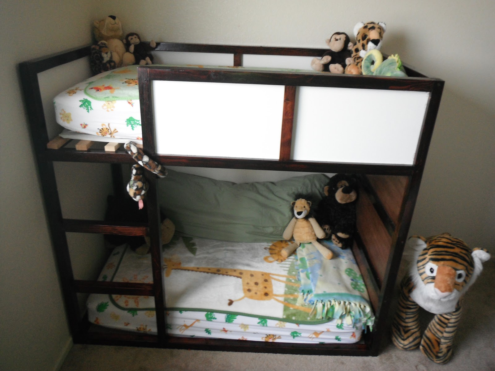 Toddler Bunks Crafting Weasels Toddler Bunk Bed