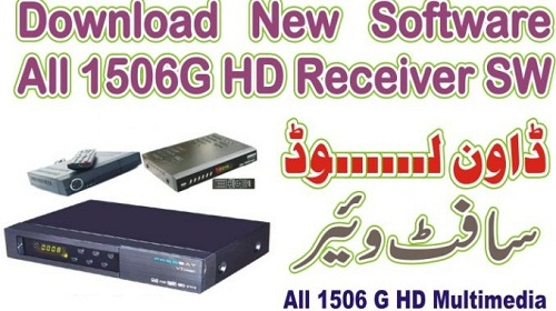 1506 Code HD Receiver All Software 2019 - All Satellite Biss