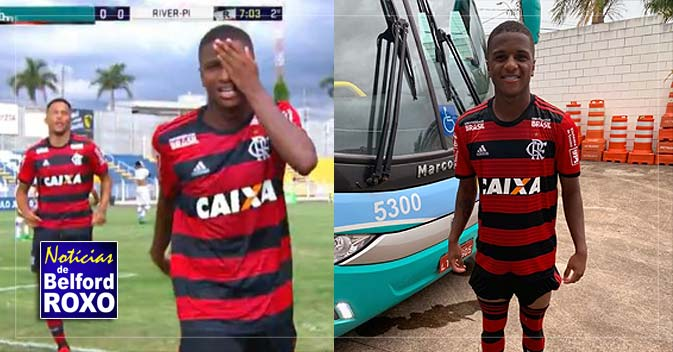 058469f601 Belforroxense Bill faz três gols e vira destaque do Flamengo na estreia da  Copinha