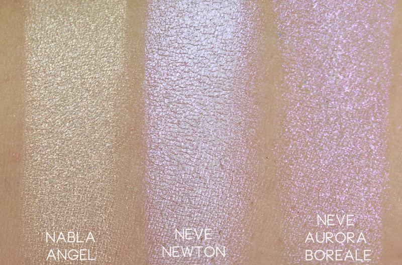 Neve Cosmetics Mutations Newton swatch