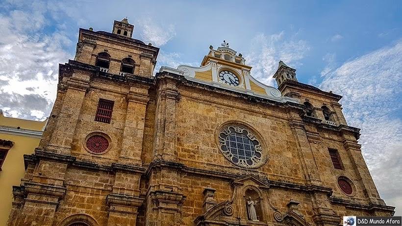 Igreja San Pedro Claver - Roteiro de 4 dias em Cartagena, Colômbia