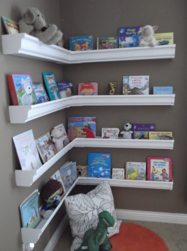 Sunshine On The Inside Charm's New Shelves