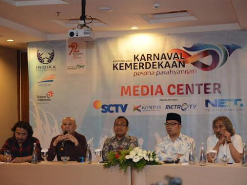 Karnaval Kemerdekaan Pesona Parahayangan 2017 di Kota Bandung