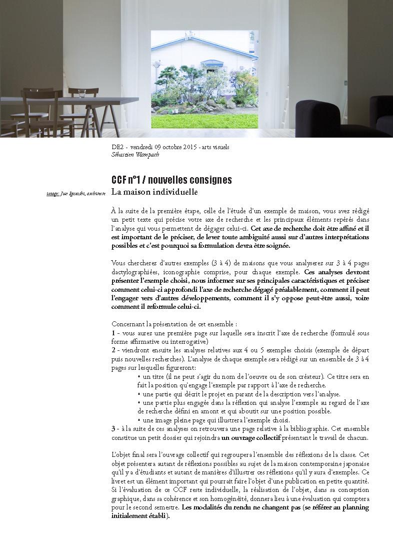 Bts design d 39 espace vaur al arts visuels 2 me ann e for Espace 3 architecture