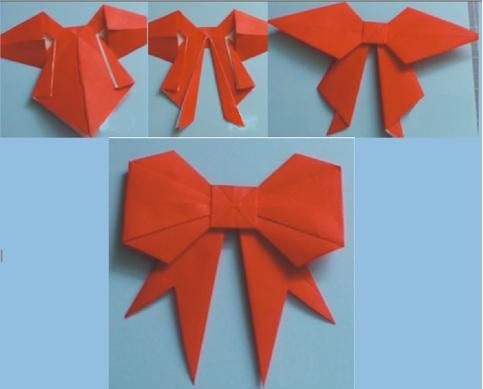 pasos para hacer moños de papel chongos de papel