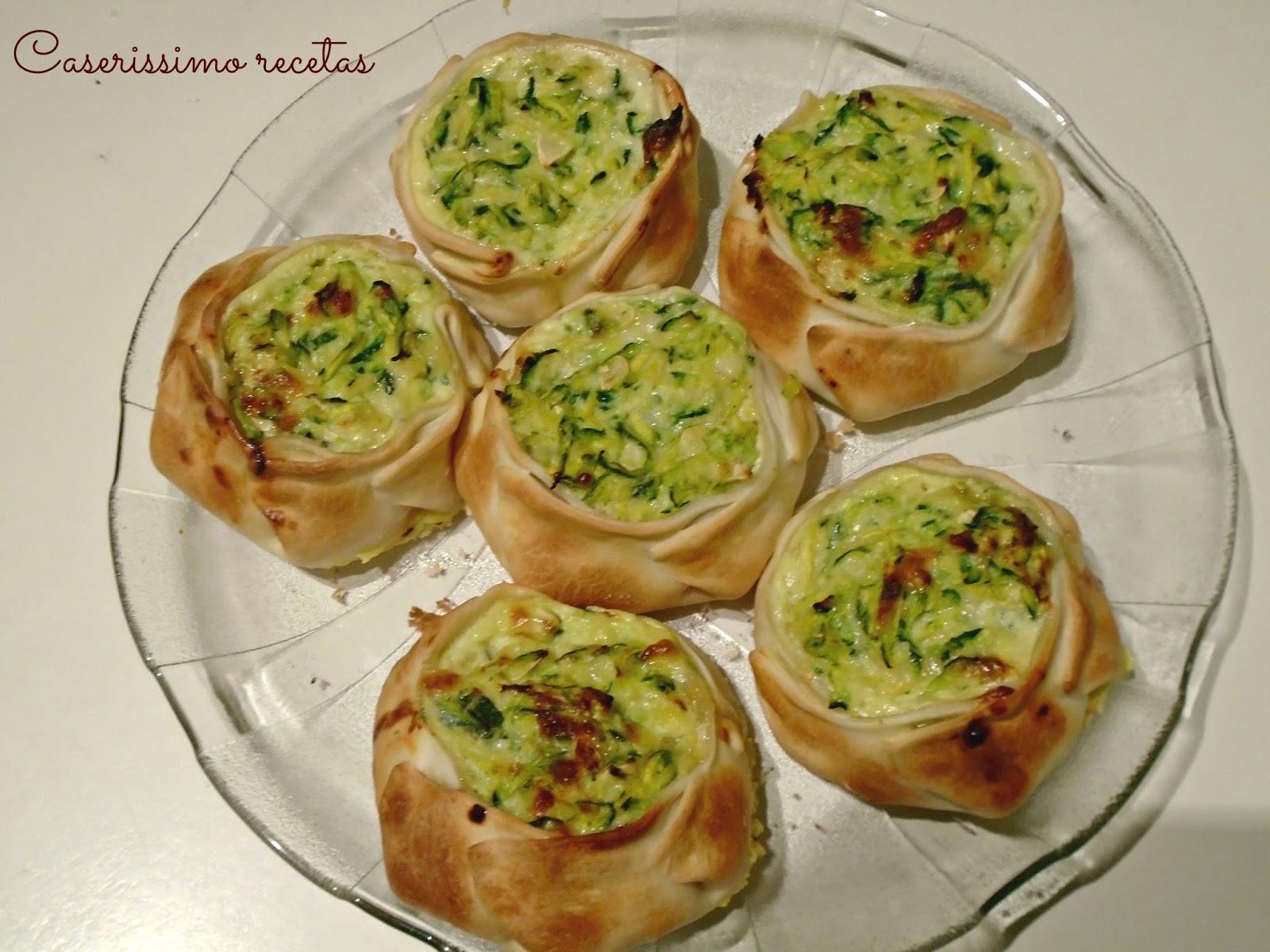 Tarta de zapallitos verdes rallados