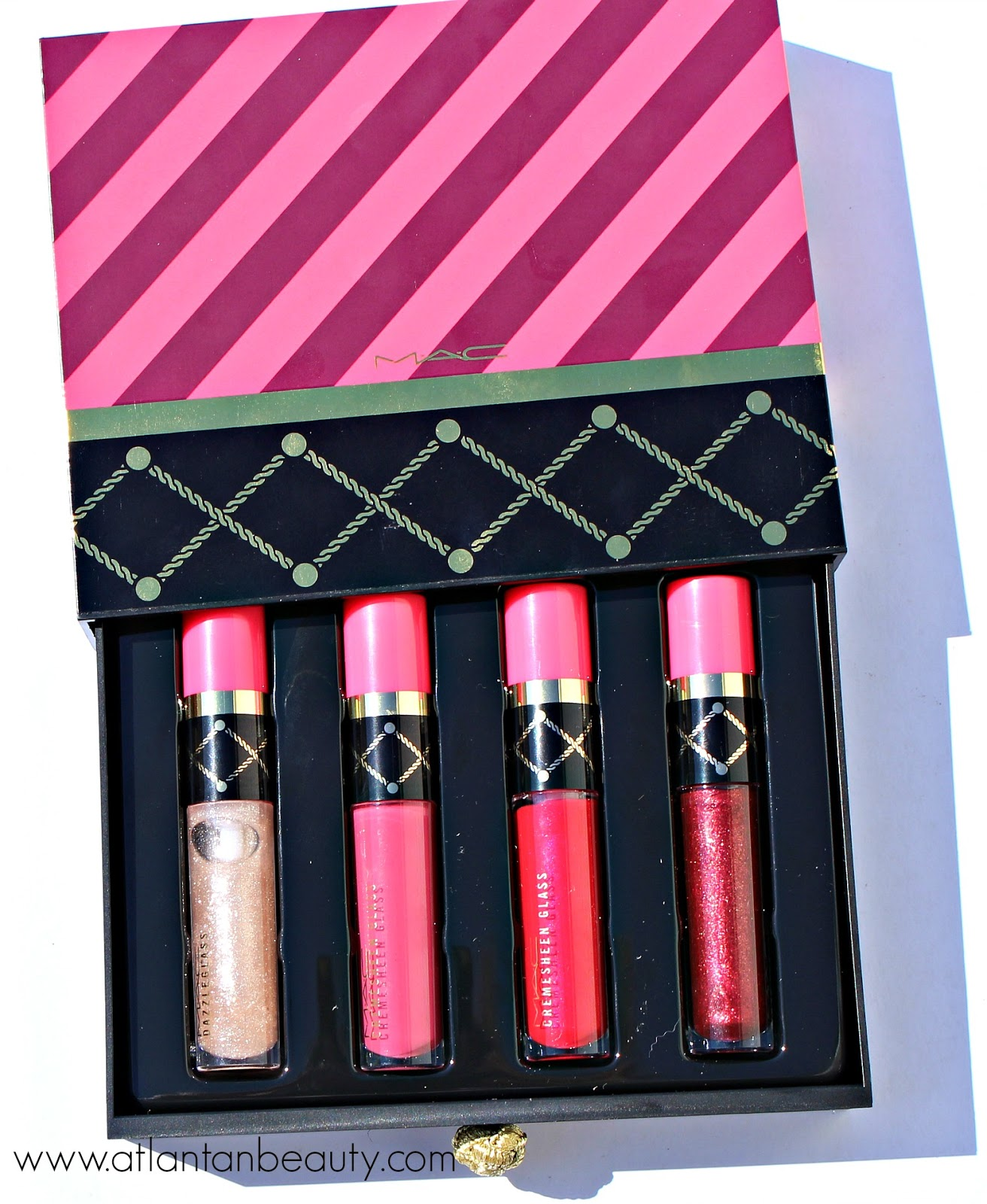 M.A.C Nutcracker Sweet Red Lip Gloss Kit