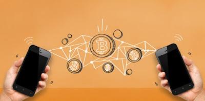 celulares monedas bitcoin