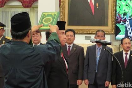 Usai Sumpah Hakim MK, Jokowi Lantik Usra Harahap Jadi Dubes LBBP Nigeria