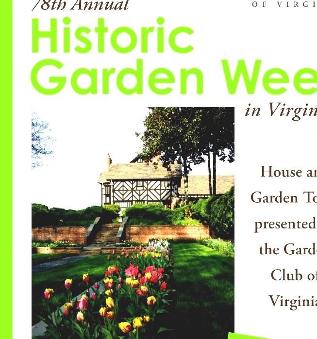 Historic Garden Week - Virginia Garden Week