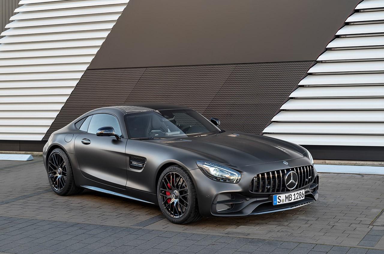 Mercedes AMG GT C Roadster 2017