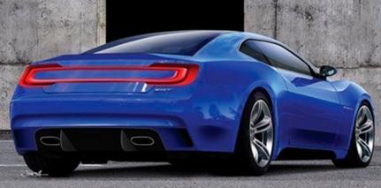 2017 Dodge Challenger Concept