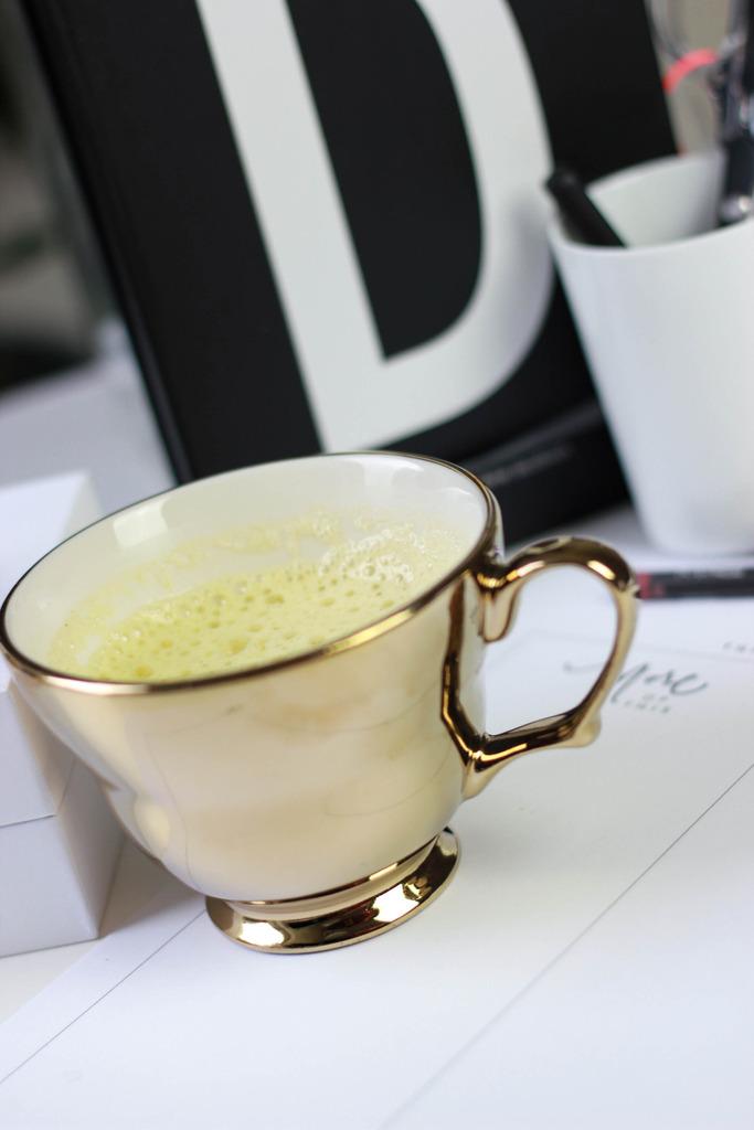 Golden Milk aus der Albre Happy Challenge mit sisterMag