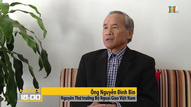 Image result for Nguyễn Đình Bin, nguyên Thứ trưởng Ngoại giao
