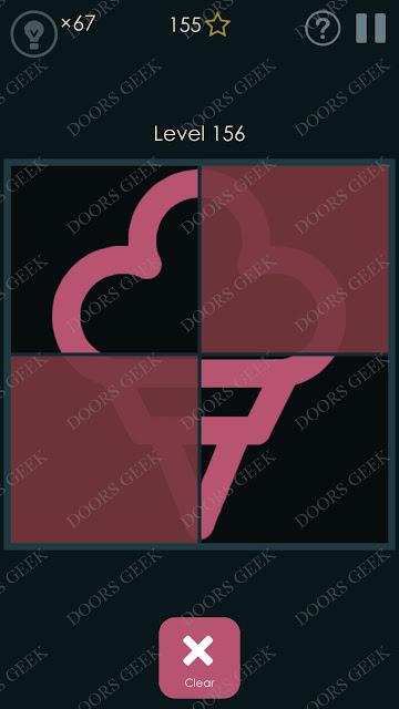 Symmetry - Drawing Puzzles Level 156 Solution, Cheats, Walkthrough