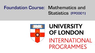 University of London Foundation course