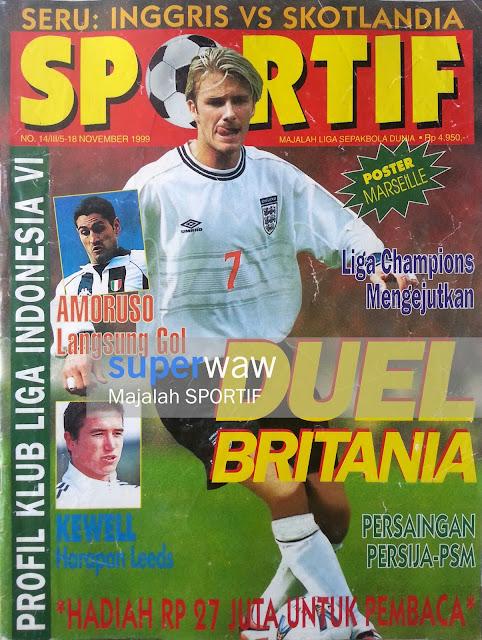 Majalah SPORTIF Duel Britania