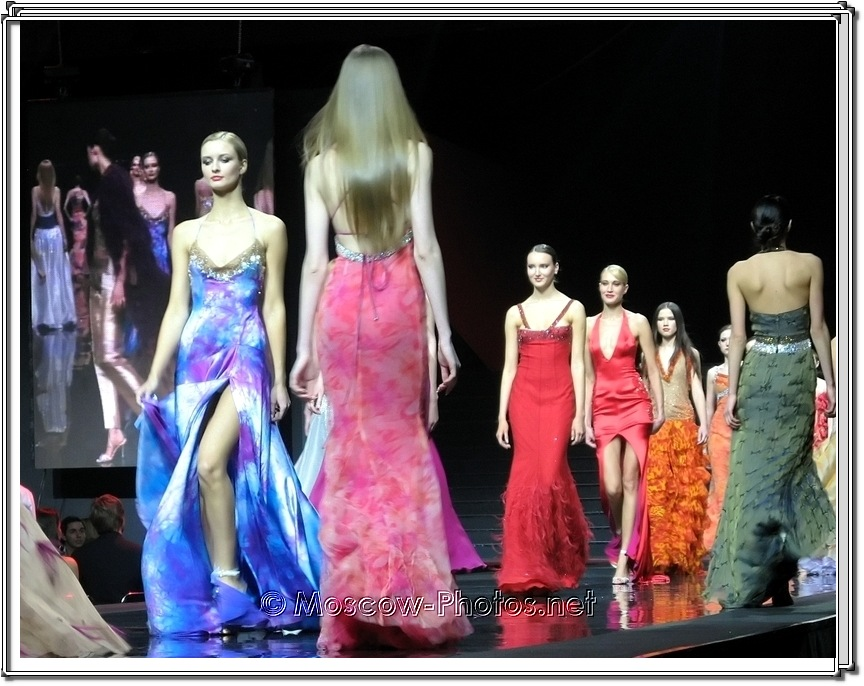 Gianni Calignano Collection. Moscow Fashion Expo - 2007.