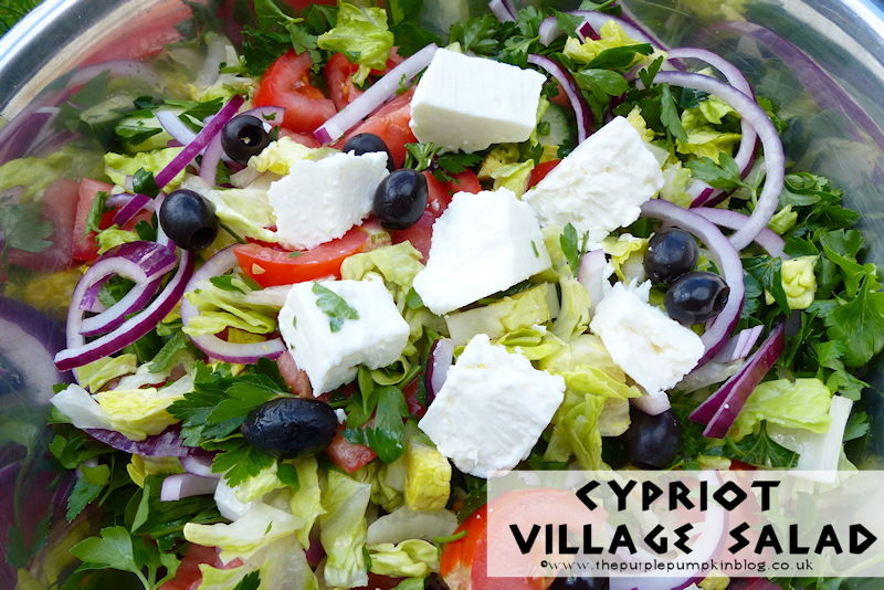Cypriot Village Salad   How to Prepare a Greek-Cypriot Meze for Six at Home [A #Shop with Asda + #CollectiveBias]