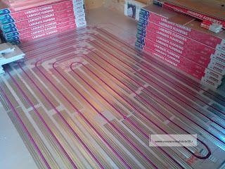 Монтаж теплого пола по деревянному перекрытию